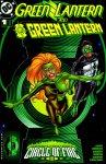 Обложка комикса Зелёный Фонарь / Зелёный Фонарь