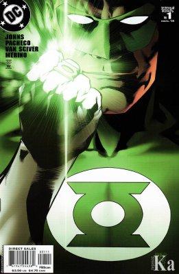 Серия комиксов Зелёный Фонарь №1