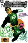 Обложка комикса Зелёный Фонарь №33