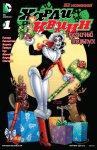 Обложка комикса Харли Квинн: Праздничный Спецвыпуск