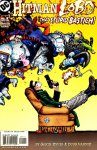 Обложка комикса Хитмэн/Лобо: Тот Глупый Бастич