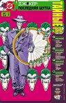 Обложка комикса Джокер: Последняя Шутка. Тайные Файлы и Досье