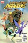 Обложка комикса Локхид и Животные Мстители №1