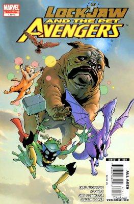 Серия комиксов Локхид и Животные Мстители