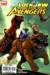 Обложка комикса Локхид и Животные Мстители №2