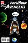 Обложка комикса Локхид и Животные Мстители №4