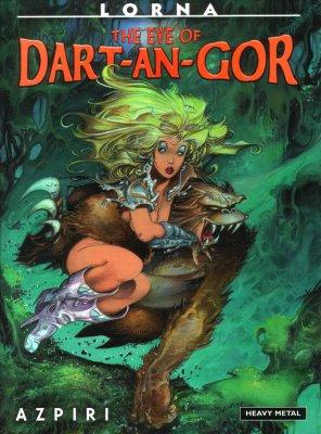 Серия комиксов Лорна: Око Дарт-ан-Гора