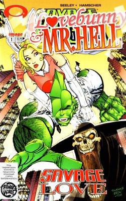 Серия комиксов Лавбанни и Мистер Хелл: Дикая Любовь