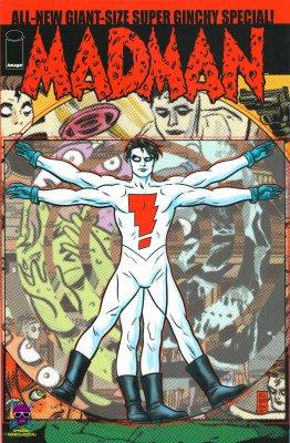 Серия комиксов Мэдмен Новый Супер Гигантский Спецвыпуск