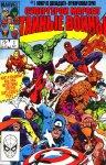 Обложка комикса Супер-Герои Марвел. Тайные Войны