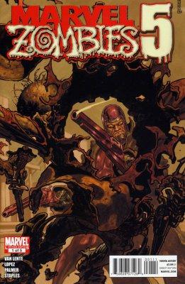 Серия комиксов Марвел Зомби 5