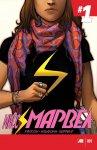 Обложка комикса Мисс Марвел №1