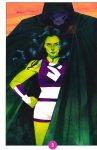 Обложка комикса Женщина-Халк №3