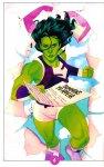 Обложка комикса Женщина-Халк №6