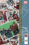 Обложка комикса Человек-Паук/Фантастическая Четверка №4