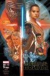 Обложка комикса Звездные Войны: Пробуждение Силы. Адаптация Фильма №1