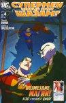 Обложка комикса Супермен/Шазам: Первый Гром №4