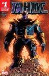 Обложка комикса Танос №1