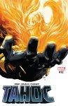 Обложка комикса Танос №12