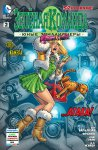 Обложка комикса Зеленая Команда: Юные Триллионеры №2