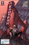 Обложка комикса Дикие Коты: Ледитрон
