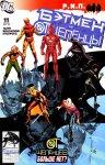 Обложка комикса Бэтмен и Отщепенцы №11