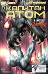 Обложка комикса Капитан Атом №5