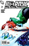 Обложка комикса Корпус Зеленых Фонарей №7