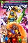 Обложка комикса Зеленый Фонарь: Новые Хранители №4