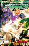 Обложка комикса Зеленый Фонарь: Новые Хранители №6