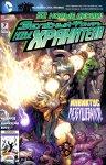 Обложка комикса Зеленый Фонарь: Новые Хранители №7