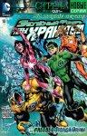Обложка комикса Зеленый Фонарь: Новые Хранители №13