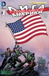 Обложка комикса Лига Справедливости Америки