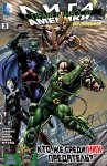 Обложка комикса Лига Справедливости Америки №3
