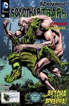 Обложка комикса Болотная Тварь №10