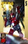 Обложка комикса Современный Железный Человек II №5