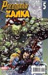 Обложка комикса Современные Росомаха против Халка №5