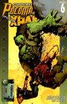 Обложка комикса Современные Росомаха против Халка №6