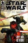 Обложка комикса Звездные Войны: Дарт Мол - Смертный Приговор №4