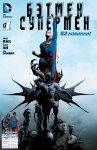 Обложка комикса Бэтмен/Супермен №1