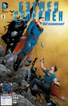 Обложка комикса Бэтмен/Супермен №2