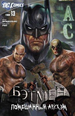 Серия комиксов Бэтмен: Помешанный Аркхем №13