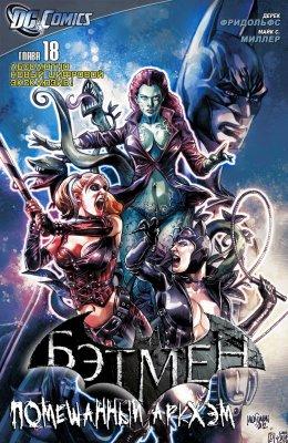 Серия комиксов Бэтмен: Помешанный Аркхем №18
