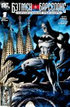 Обложка комикса Бэтмен в Барселоне: Драконий Рыцарь
