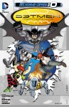 Обложка комикса Бэтмен Корпорация №0