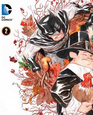 Серия комиксов Бэтмен: Маленький Готэм №2
