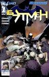 Обложка комикса Бэтмен №1