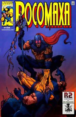 Серия комиксов Росомаха №158