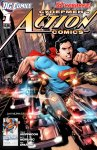 Обложка комикса Супермен в Action Comics