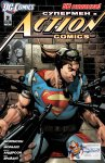 Обложка комикса Супермен в Action Comics №2